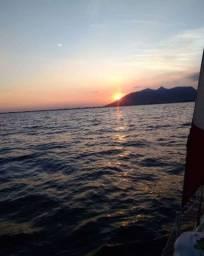 Passeio e charte em veleiro