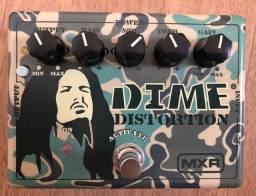 Título do anúncio: Pedal De Efeito Dunlop Mxr® Tribute Dime Distortion Dd11