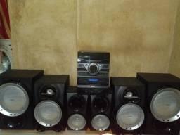 Som Mini sistem Philips 1200w RMS