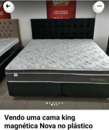 Cama king magnética