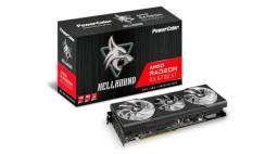 Placa de Vídeo AMD Radeon RX 6700 XT Hellhound PowerColor 12GB - NOVA -Loja Física
