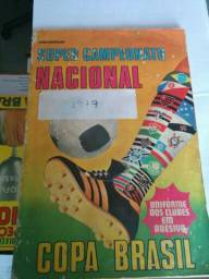Álbum de figurinhas Super Campeonato Nacional Copa Brasil. 1977