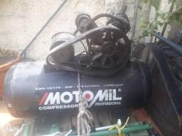 Compressor de ar Motomil 15 pés 175 litros