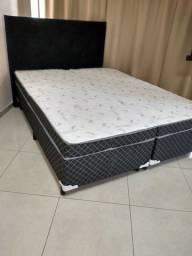 Título do anúncio: VENDO cama QUEEN NOVA direto da fábrica.