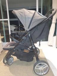 Carrinho de bebê,  cadeirinha e base com isofix Graco Click Connect 35.