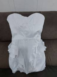 Título do anúncio: Vestido Branco Lança Perfume