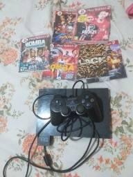 Título do anúncio: Vendo Ow troco videogame play station 2