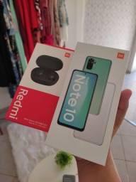 Redmi Note 10 + Fone Bluetooth AirDots 2