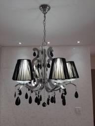 Lustre lindo com 6 lâmpadas de led