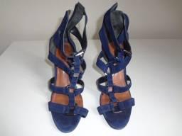Sandália feminina Schutz - cor azul