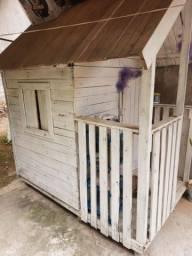 Casa de boneca para crianças