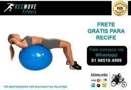 Bola Suíça 55cm para Ginástica Pilates e Fisioterapia