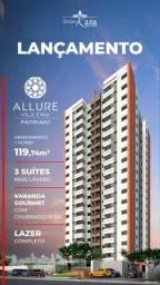 Lançamento!!!! Vila Ema - Allure Vila Ema - 119 M² 3 Dorms. com Suítes - 2 Vagas