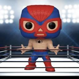 Marvel Luchadores Lucha Libre El Aracno Homem-Aranha Funko POP Figura de vinil # 706