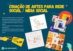Criação de Artes para rede social/ Mídia Social a partir de R$5,00