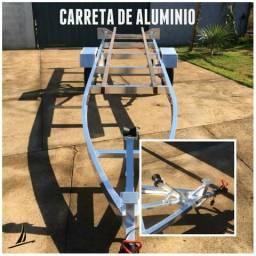 Carretinha em alumínio