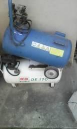 Tanque para compressor de ar azul