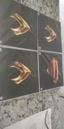 Placas decorativas Liga da Justiça + Brinde