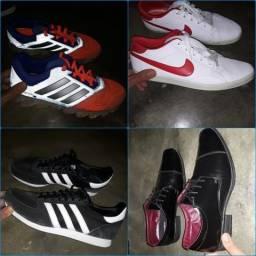 Tenis e sapato a venda (semi novos)