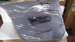 *-Forro Porta Traseiro Esquerdo Cinza Claro Vectra 06/09 Sedan
