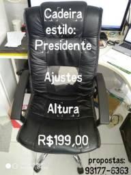 Cadeira Estilo Presidente Giratória