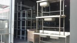 Cozinha industrial - moveis em inox - padrão ou sob medida Luis *