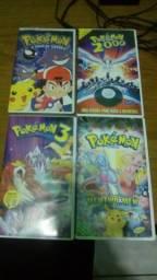 Fitas VHS Pokemon