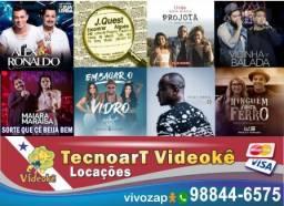 Videokê / Karaokê Locação em Belém 10085 Músicas