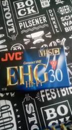 Fita vídeo JVC compact VHS