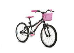 Bicicleta Feminina Infantil Nina ARO 20 - Deixe que sua fé seja maior que seus problemas