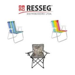Cadeira Araguaia Confort e Paria Modelos e Cores variadas