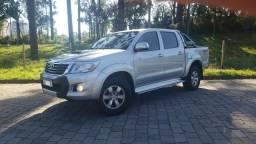 Toyota Hilux SRV Diesel 4x4 - Top de linha - 2013