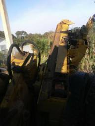 Maquina retro escavadeira