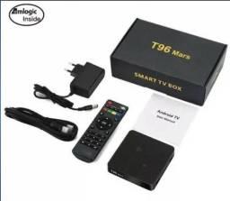 Smart tv box 4gb + 16g T96 Mars