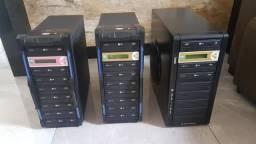 3 Duplicadora DVD e CD