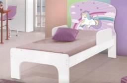 Mini cama infantil personagens 100% MDF