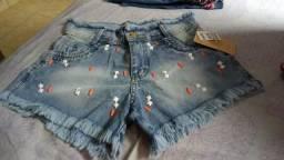 Short jeans novos!