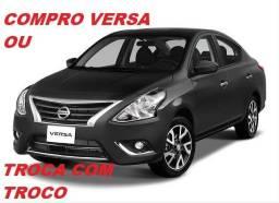 Nissan Versa Pago a Vista ou Troca c/ Troco
