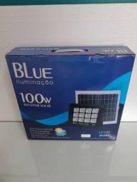 Lâmpada solar 100w blue ip65, frete grátis acima de 2 unidades.