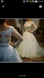 Vestido + véu