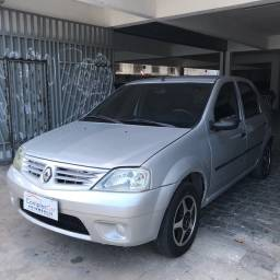 Renault Logan Authentic FLEX 2008- Completo!!