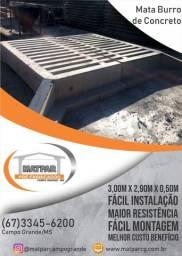 Mata Burro de Concreto 3,00m X 2,90m X 0,50m