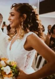 Vestido de noiva feito sob medida