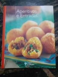 Livro De Aperitivos e Entradas - Abril Coleções