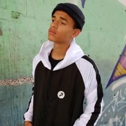 Jaqueta corta vento masculina peralta street wear