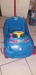 Berço cama e carro infantil