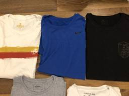 5 camisetas por R$120 - G