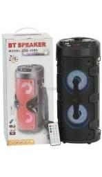 Caixa De Som Amplificada Com Controle Original Bluetooth Fm Sd Super Bass