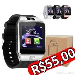 Smartwatch dz09 faz ligação !!!