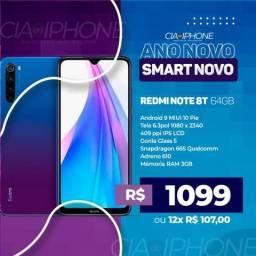 Redmi Note 8 64gb branco ou chumbo!